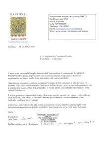 Lettera Ravenna Parkinson
